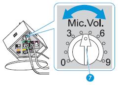 how to change mic volume discord